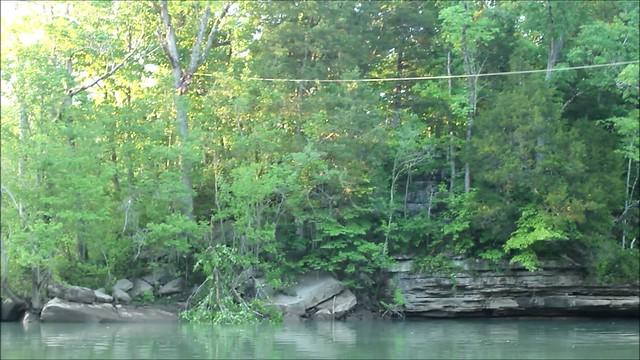 Zipline, Cheryl Pratt, CaverDash 2014, Van Buren County, Tennessee