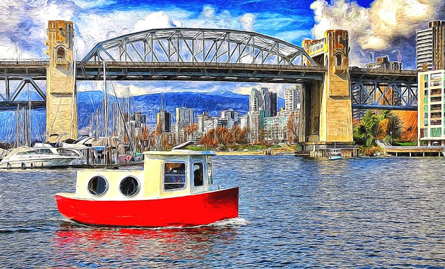 Burrard Bridge Vancouver.