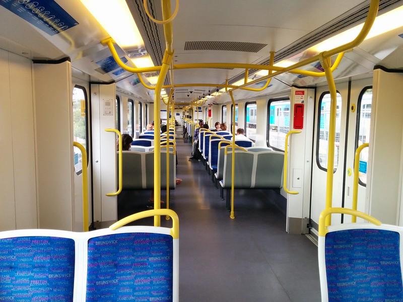 Siemens train: new layout February 2015
