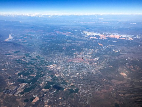 utah unitedstates flight aerial americanairlines windowseat i15 cedarcity cedarbreaksnationalmonument
