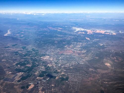 utah unitedstates flight aerial americanairlines windowseat i15 cedarcity cedarbreaksnationalmonument
