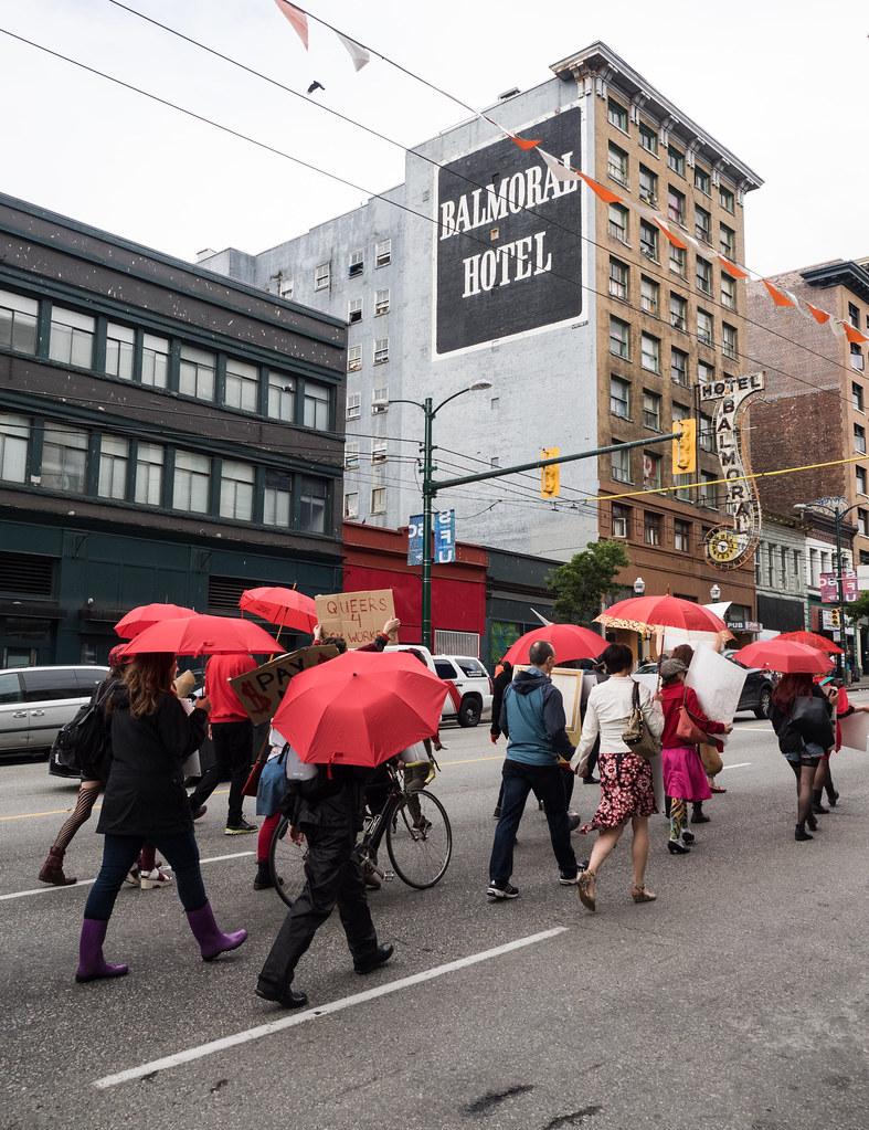 Vancouver park blow job