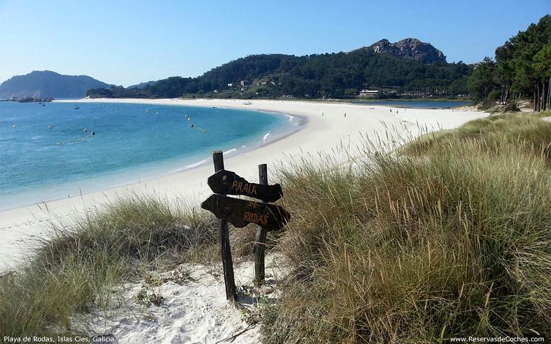 Playa de Rodas, Islas Cíes, Galicia