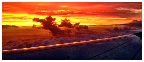 sunrise takenfromplane