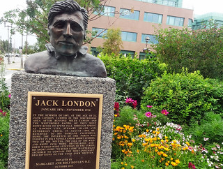 jack-london-statue   by quirkytravelguy