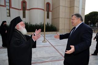 Επίσημη επίσκεψη Αντιπροέδρου της Κυβέρνησης και Υπουργού Εξωτερικών Ευ. Βενιζέλου στην Αλβανία