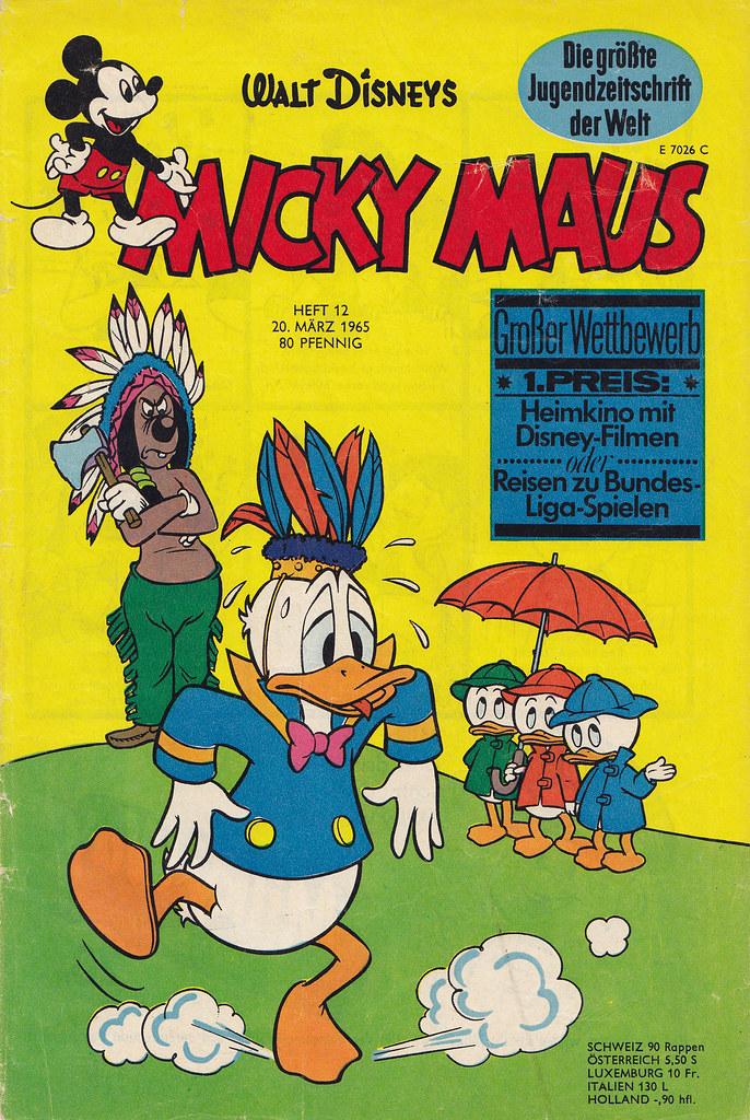 micky maus 121965  micky maus  comicheft copyright