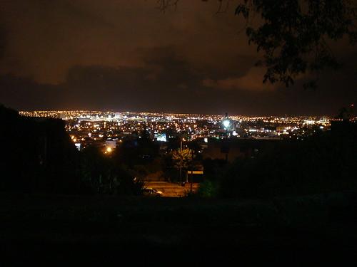 Vista al sur de la ciudad de Puebla