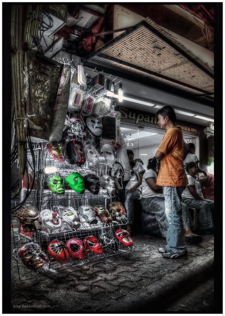 Mask Stall - Walking St. Pattaya