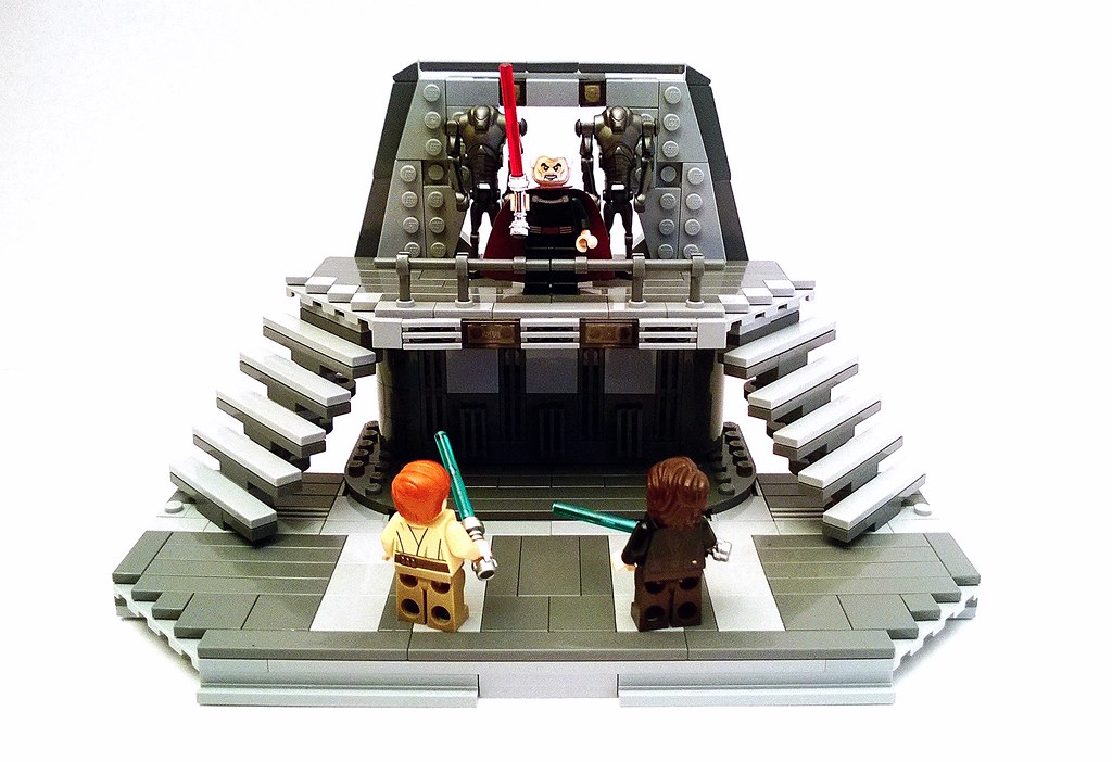 Lego Revenge Of The Sith Duel Over Coruscant I Decided To Flickr