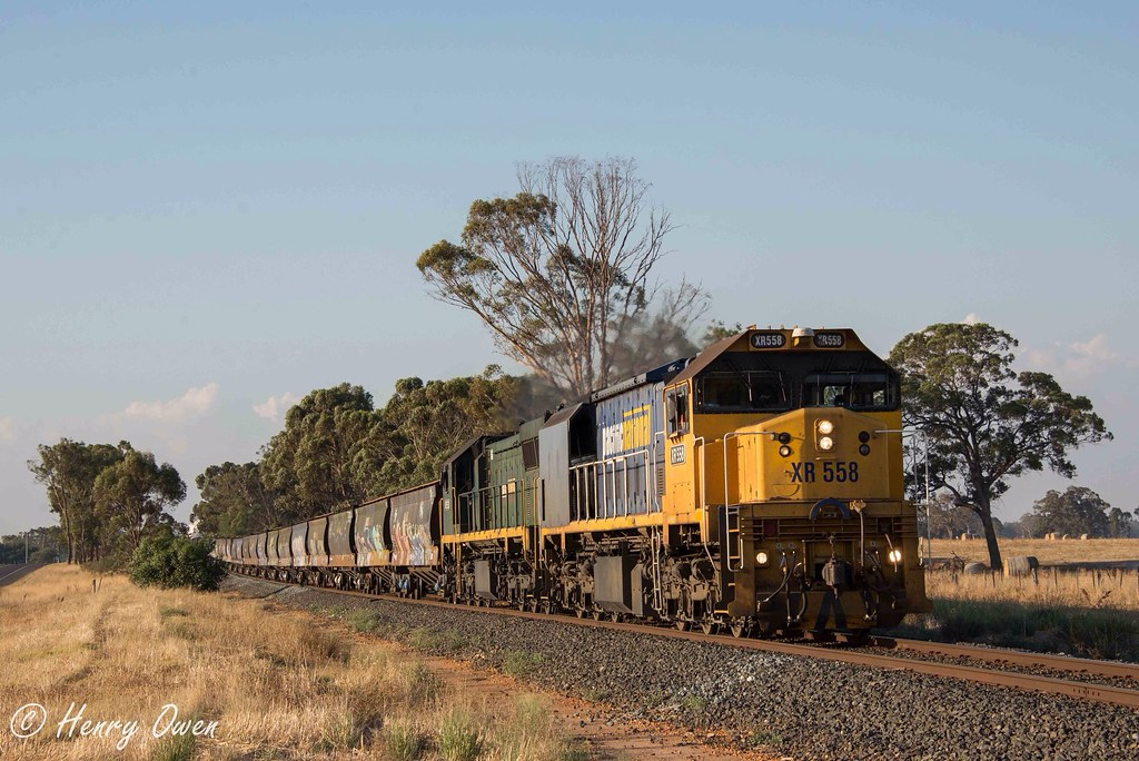 Powering out of Murchison East by Henry Owen