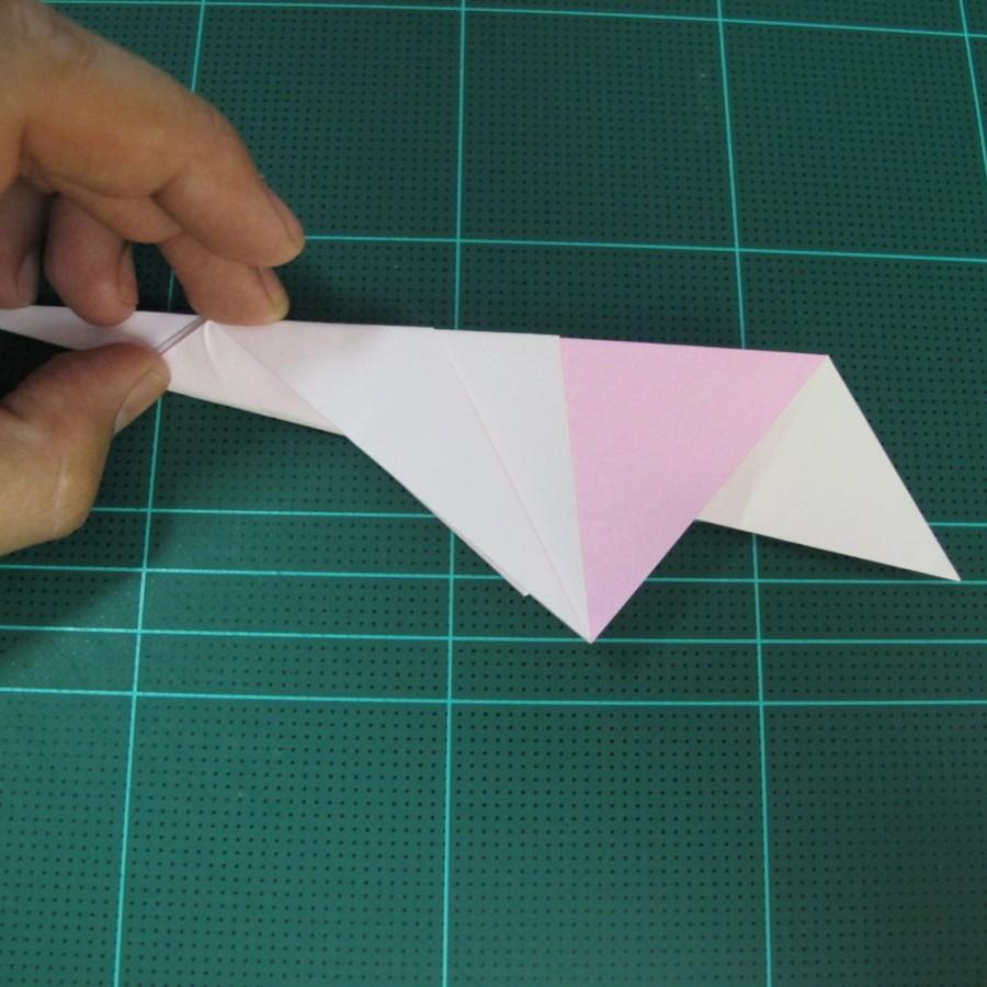 วิธีพับกระดาษเป็นรูปเครื่องบินแบบบินไกล (SST Origami Airplane) 015