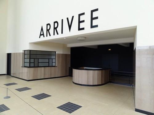 Aéroport du Bourget - Arrivée