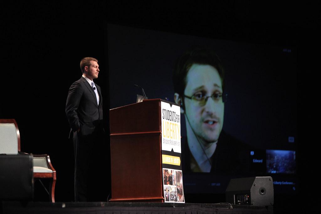 Alexander McCobin & Edward Snowden