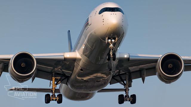 Singapore Airlines A350 9V-SMA