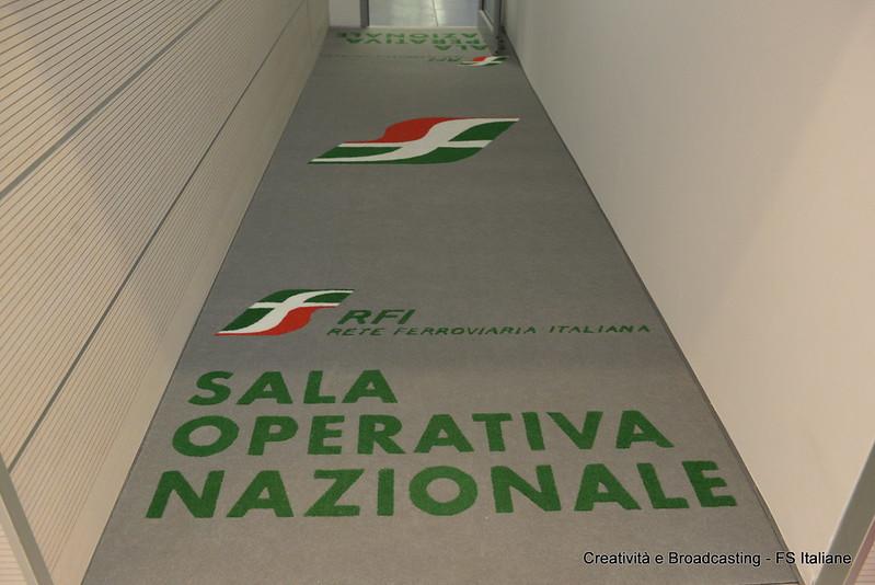 inaugurazione della nuova sala operativa RFI di Roma
