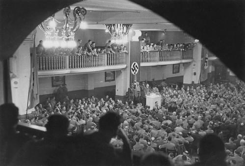 discurso de Hitler en la Burgerbraukeller