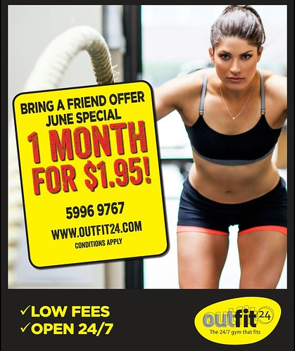 EOFY Special....June Only.... Be quick.... See you soon!!!!! www.outfit24.com.au 03 5996 9767 #gym #savings #value #cranbourne #narrewarrensouth #berwick #Lynbrook #supplements #exercise #fitness | by OutFit24