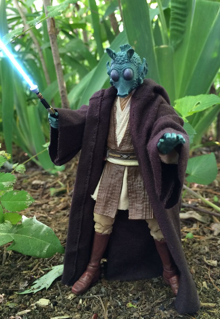 custom star wars rodian jedi black series