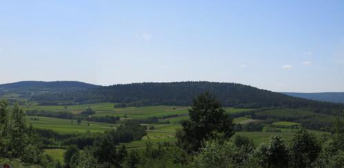 Widok z Pasma Klonowskiego_panoramka | by Artur Wagabunda