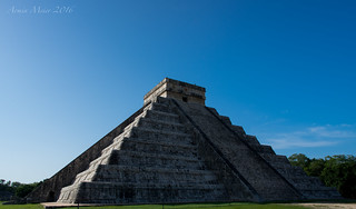 """Temple of Kukulcan"" in Chichen Itza 