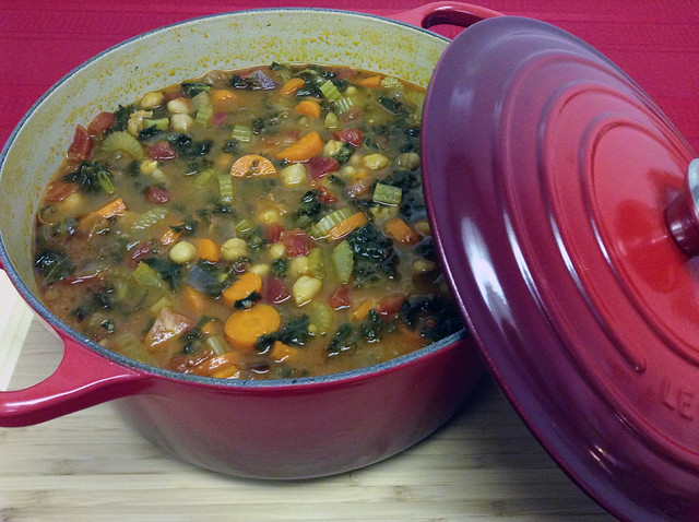 Food Porn Chapter 3 - Vegetable Kale Soup