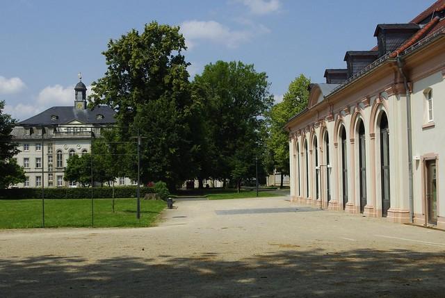 Marstall und Schloss