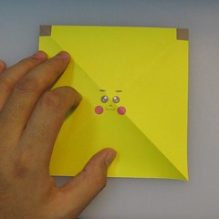 mookeep-วิธีพับกระดาษเป็นรูปปิกาจู-01-002