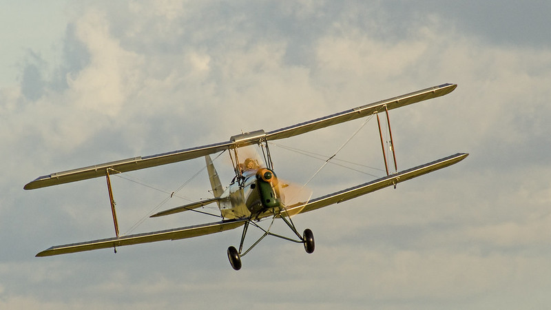 DH Tiger Moth Taking Off 1