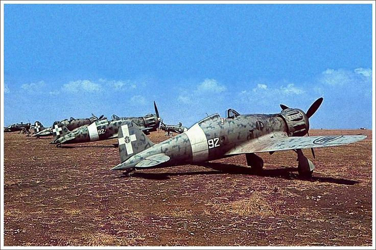 The Macchis C.200 of the 92nd Squadron, 8th Group, 2nd Wing