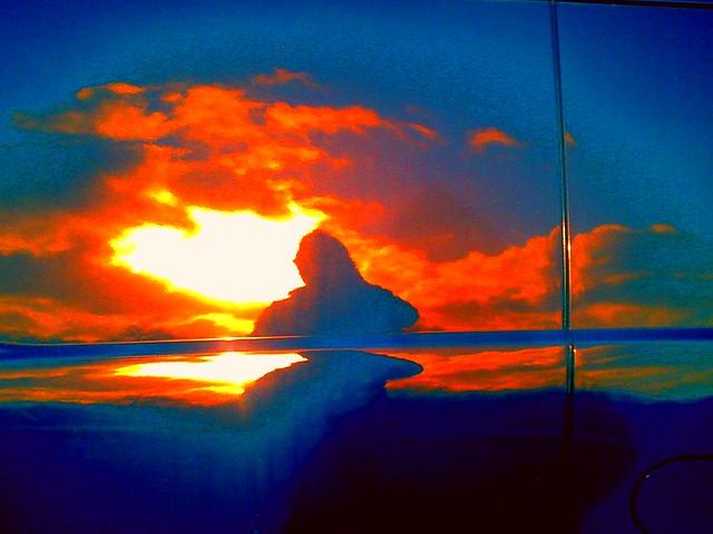 360/365 • unpretentious self with epic sun bursting through clouds
