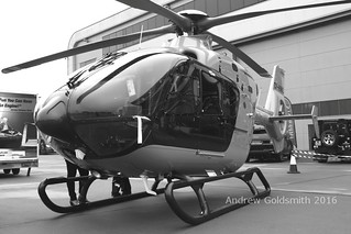 a Eurocopter EC135 OY-HWO mono 2 | by sickbag_andy