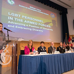 Wed, 06/22/2016 - 13:36 - On Wednesday, June 22, 2016, the William J. Perry Center for Hemispheric Defense Studies hosted 'LGBT Personnel in the Armed Forces: Advancing a Position of Inclusivity and Embracing Diversity.' Panelists included  Ms. Amanda Simpson, Deputy Assistant Secretary of Defense for Operational Policy; Major General Patricia Rose, USAF; Brigadier General (P) Randy Taylor, USA; Dr. Alan Okros, OMM, CD; Mauricio Orrego Saavedra, Chief of Staff, Office of the Under Secretary of the Armed Forces, Chile; Ms. Kristin Beck, Senior Chief Petty Officer (Ret.), US Navy Seal; and Ms. Jennifer Dane, Diversity & Inclustion Policy Analyst at American Military Partner Association.