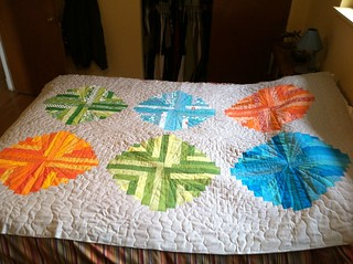 Lights in the sky quilt