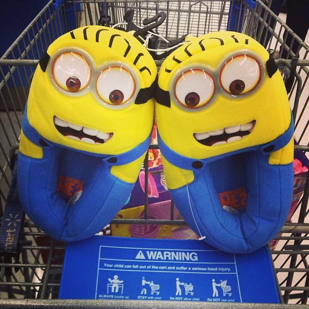 Where To Buy Minion Slippers Walmart