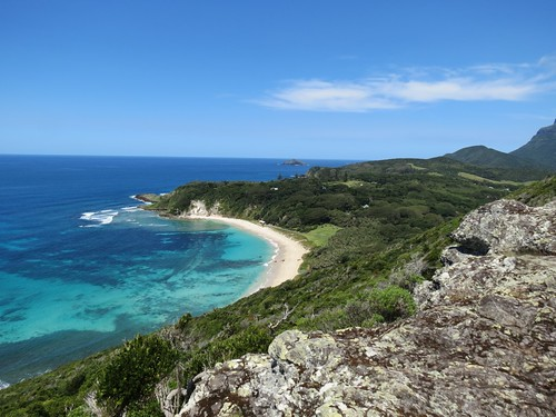 Neds Beach from Malabar Hill, Lord Howe Island | by Tracey & Doug