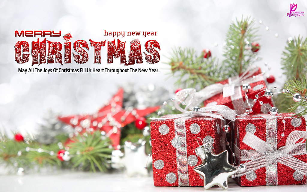Christmas Gifts Wishes Xmas With New Year Celebration Hd W Flickr