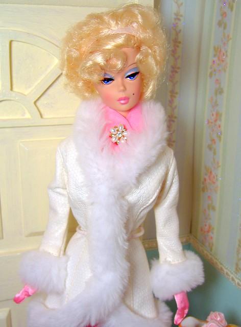 Priscilla in winter white #2