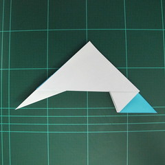 การพับกระดาษเป็นรูปตัวเม่นแคระ (Origami Hedgehog) 020