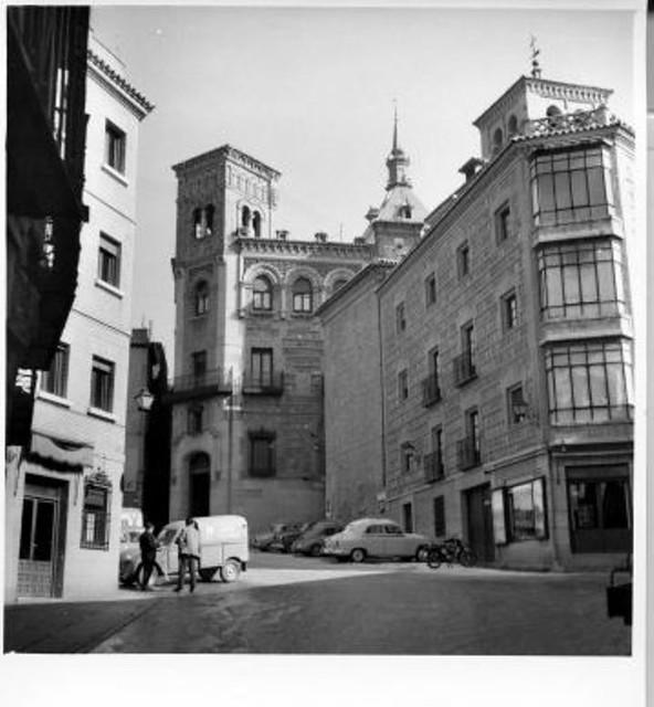Casino de Toledo, años 50. (c) JCCM, AHP, fondo Rodríguez signatura CT-003