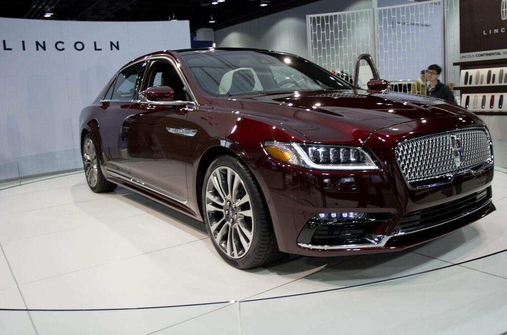 2016 Lincoln Continental Concept Car Coconv Flickr