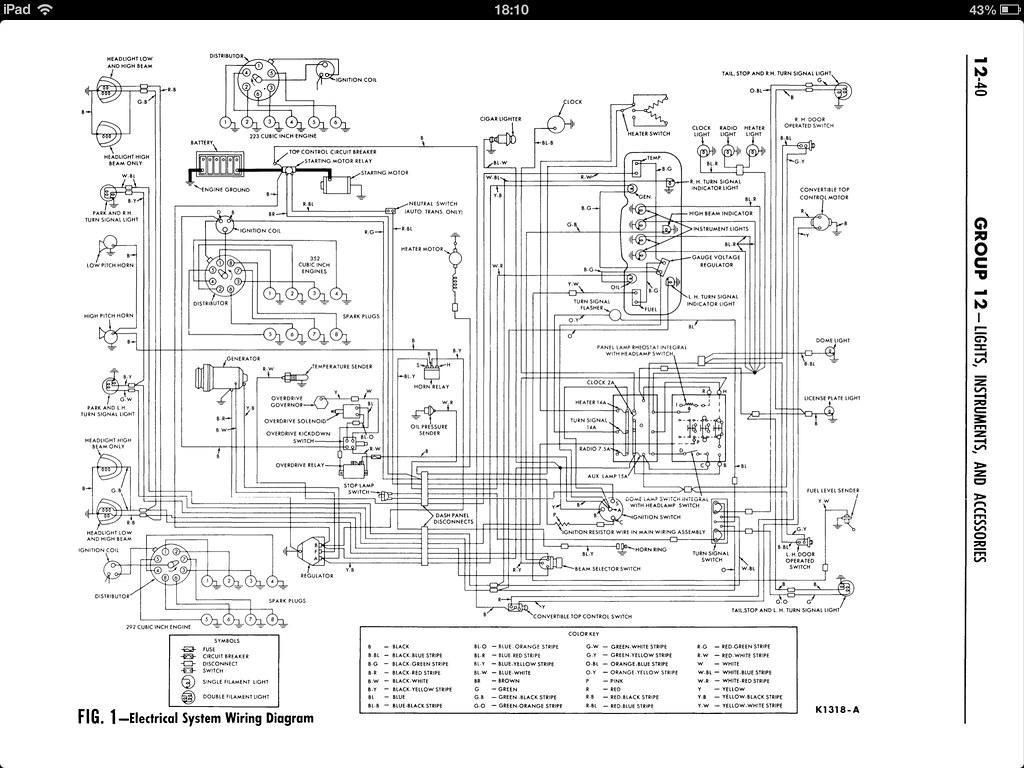 1962 ford Galaxie wiring diagram | mark & anne's photos | FlickrFlickr