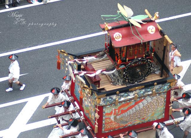 京都 祇園祭 山鉾巡行2013 *蟷螂山