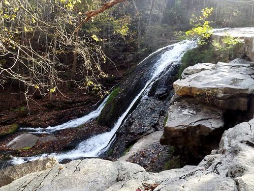 autumn virginia waterfall roaringrun 2013