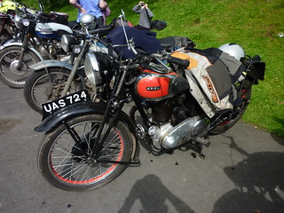 Vintage British motorcycles   by Spreydon
