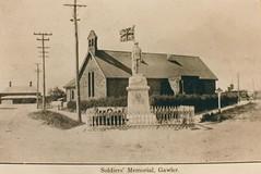 Gawler South WW1 Memorial  (2) c1921