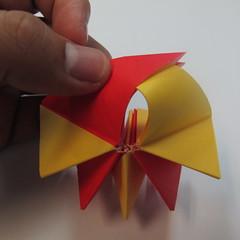 วิธีการพับกระดาษเป็นดาวหกแฉกแบบโมดูล่า 019