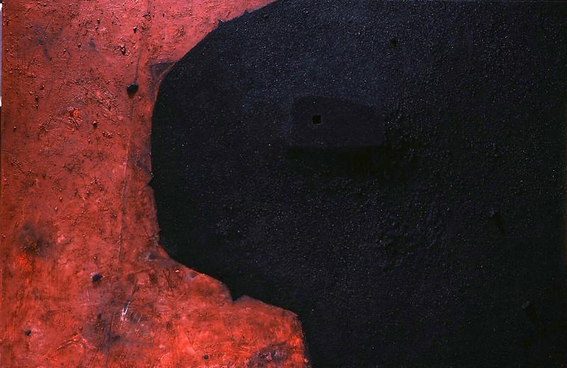 Negro dominante perforado.