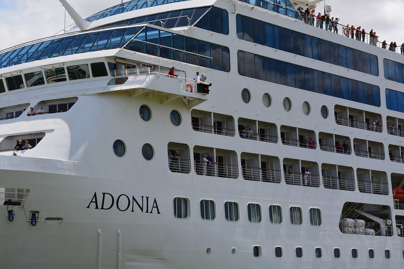 Escale Inaugurale du MS ADONIA - Bordeaux - 07 mai 2014