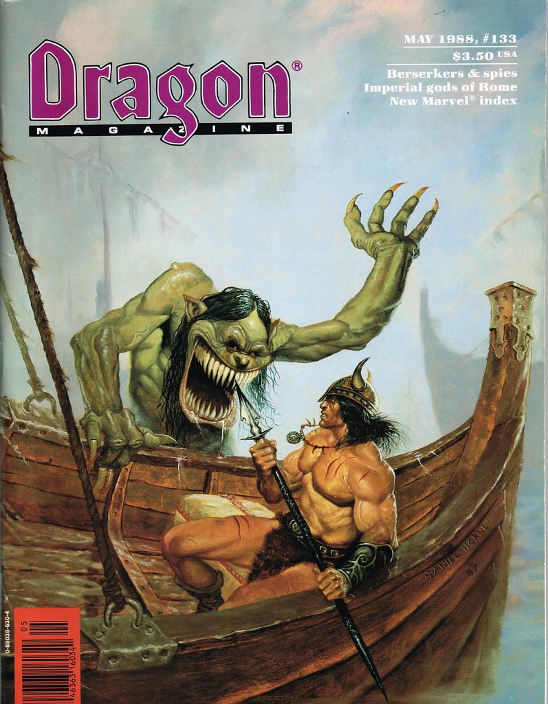 Dragon Magazine - Issue 133 | jeffliebig | Flickr